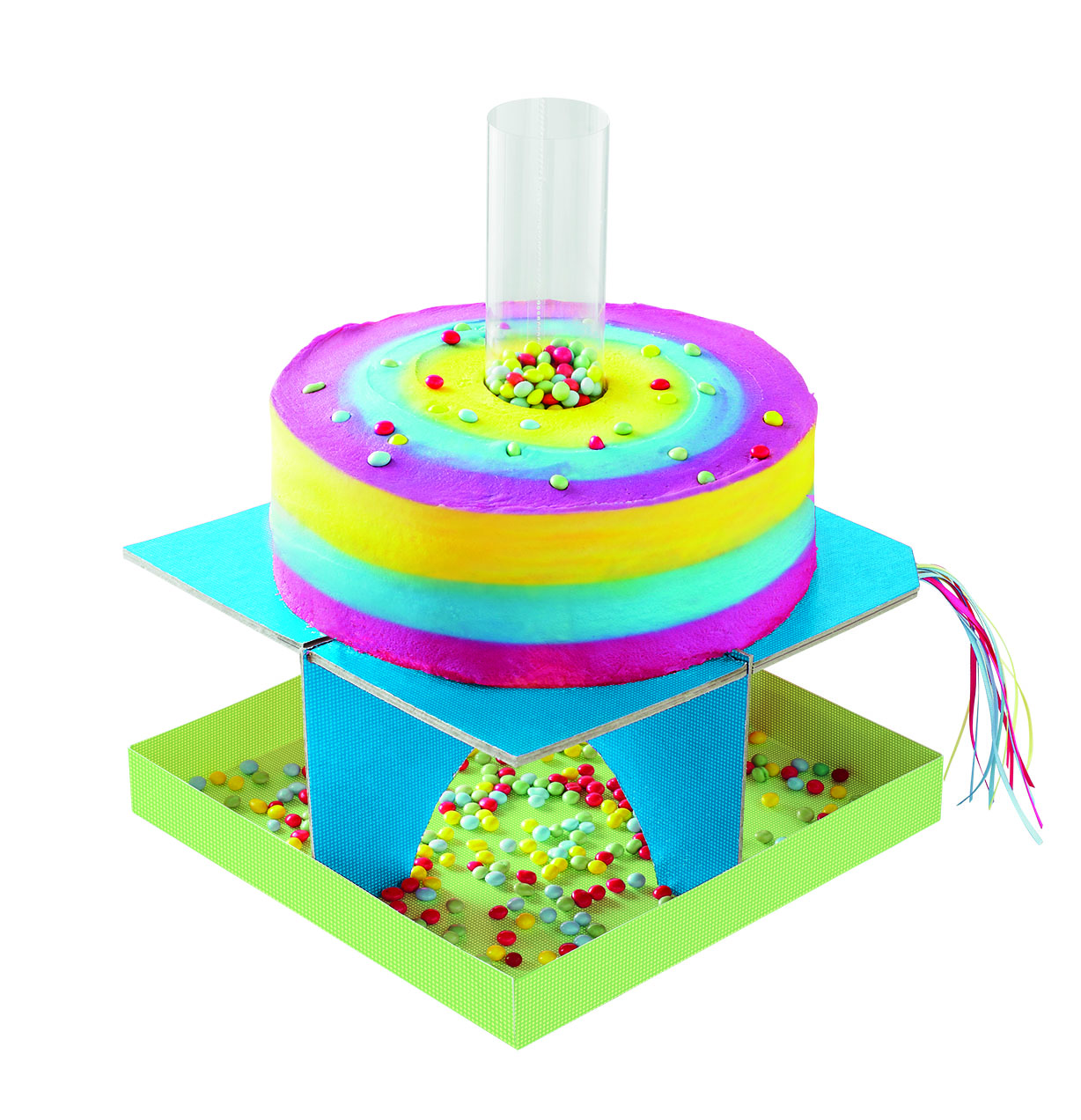 Rainbow Crash Cake Asda Corporate